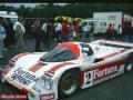 24h du Mans 1987 porsche brun