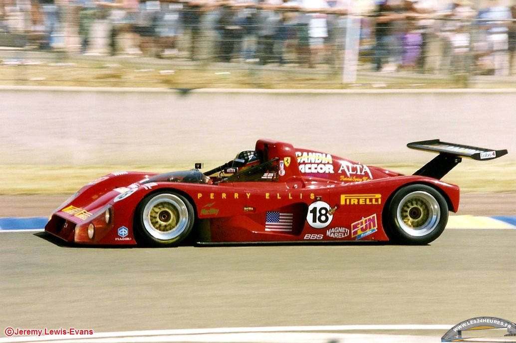 Ferrari 333 SP Scandia Racing 24h mans 96