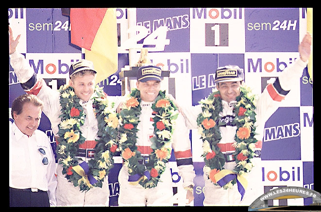 24h lemans 1997 podium