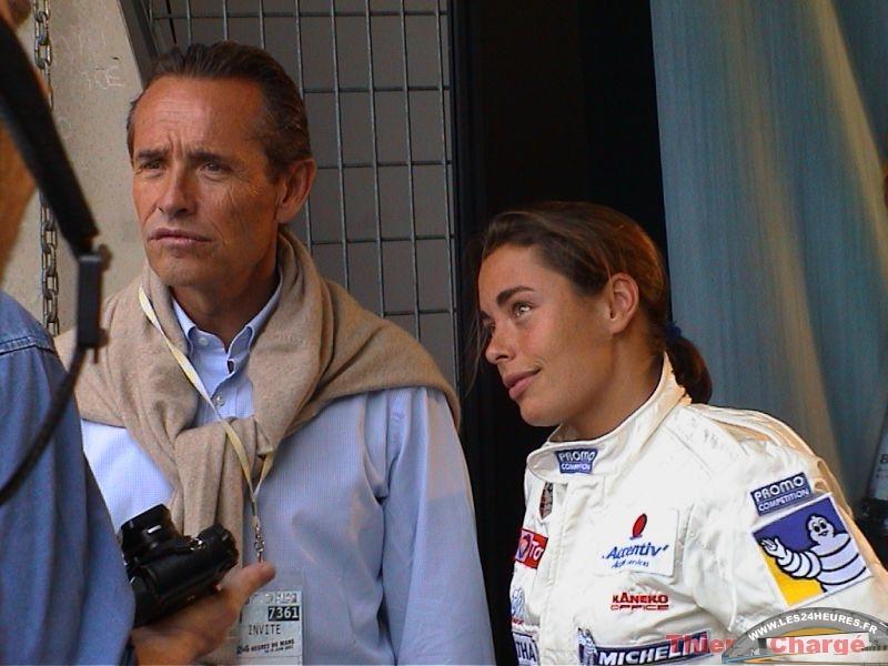 24h 2003 Jacky Ickx et Vanina Ickx