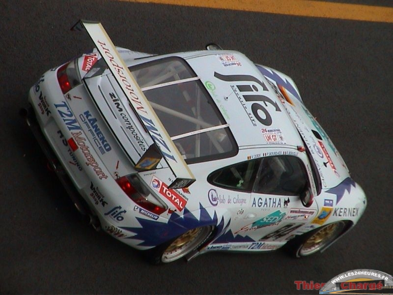 24 heures du Mans 2003 Porsche T2M