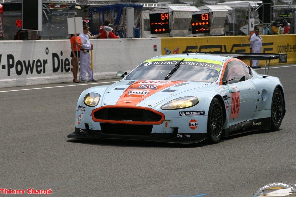 24h du Mans 2008 - Aston Martin 009