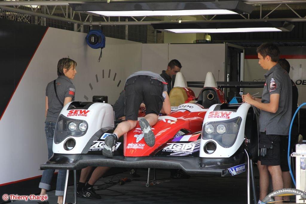 Sebastien Loeb Racing au Mans 2012