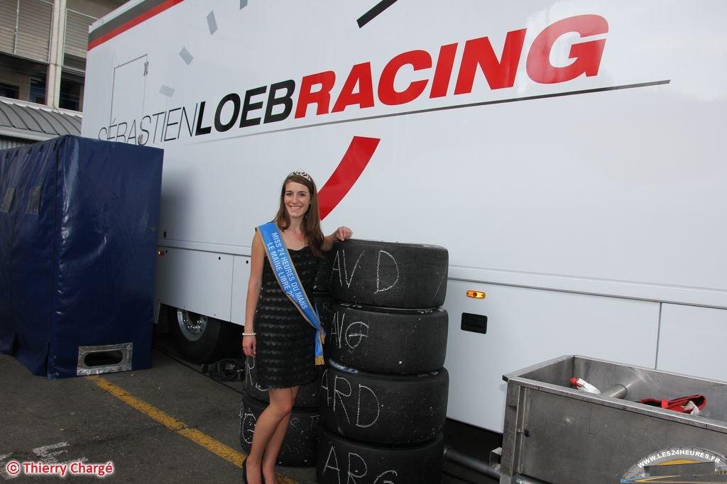 Sebastien Loeb Racing au Mans