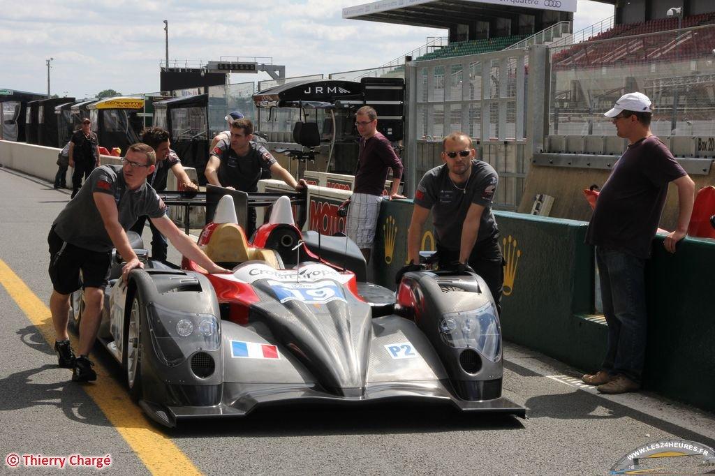Sebastien Loeb Racing au départ