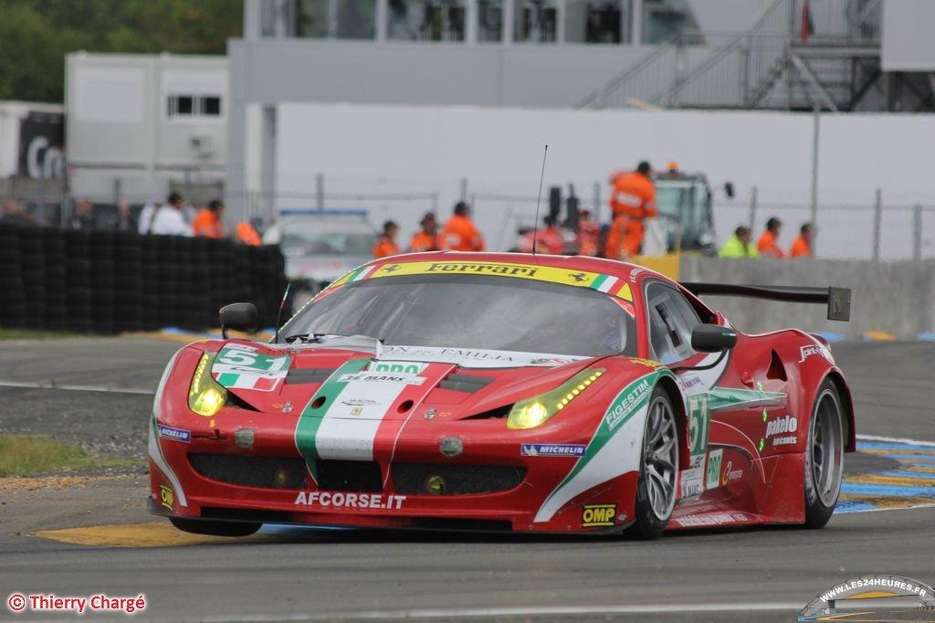 24 heures du Mans 2012 - Ferrari