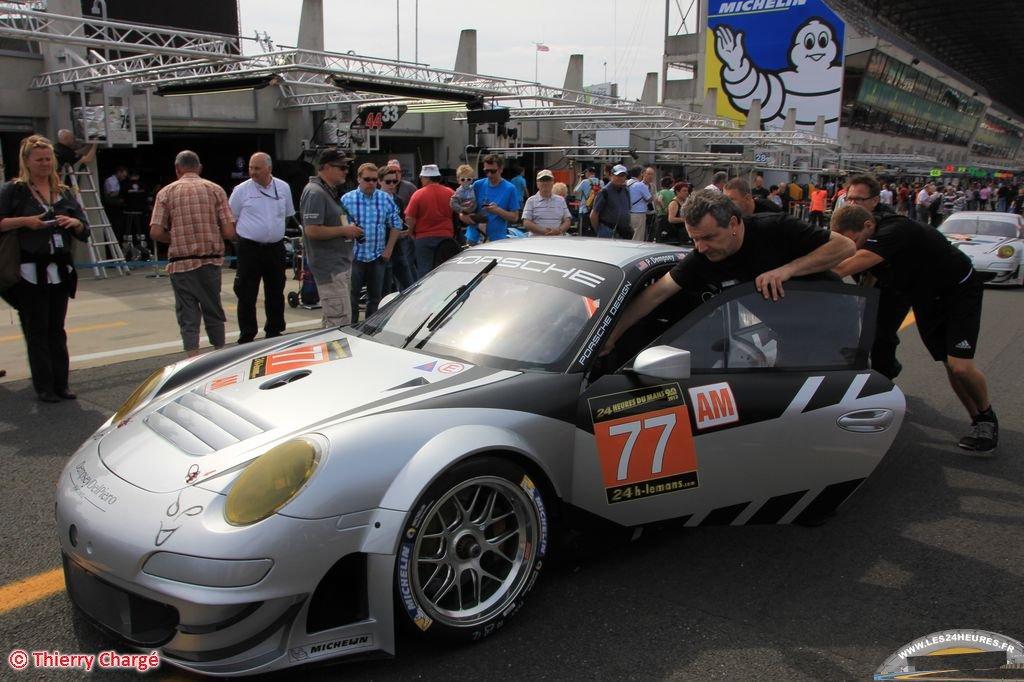 Le Mans 2013 - Porsche Dempsey Del Piero Proton no 77