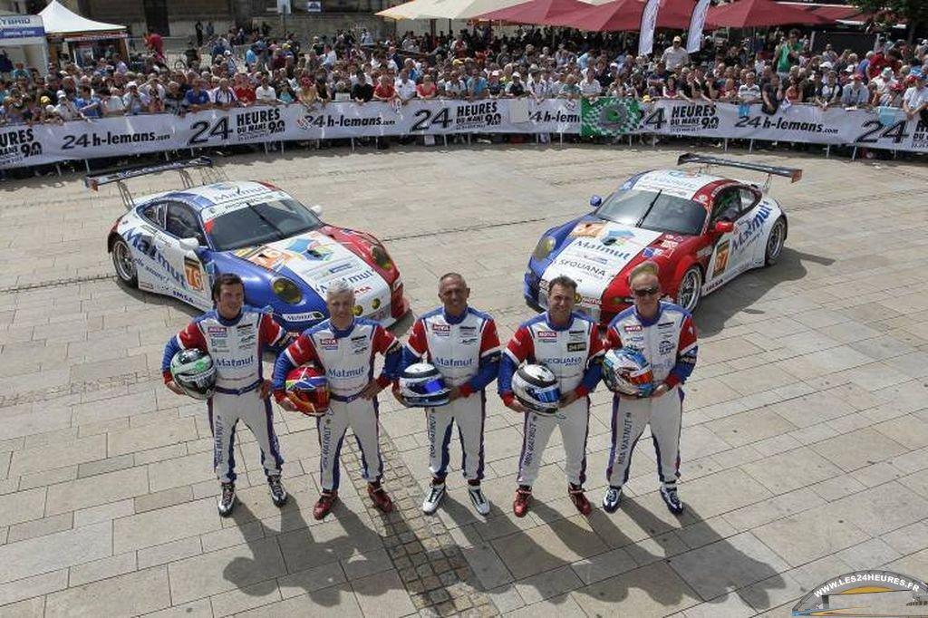 Le Mans 2013. Porsche Imsa Performance Matmut