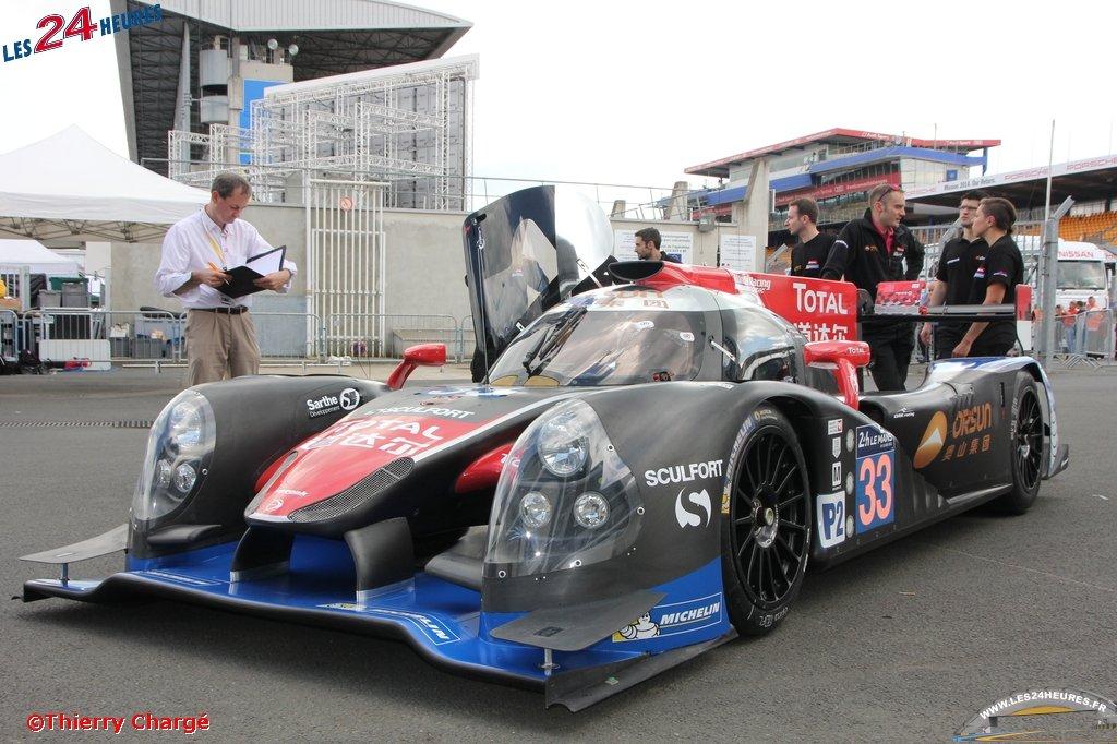 LM 2014 Ligier JS P2