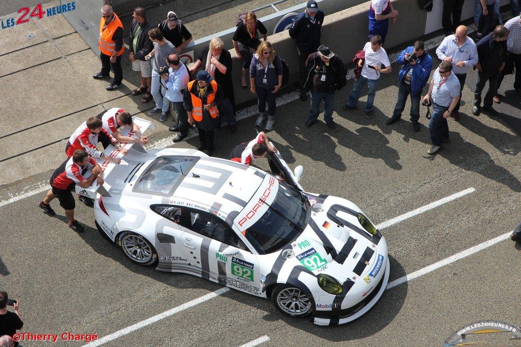24 heures du Mans 2014 - Porsche