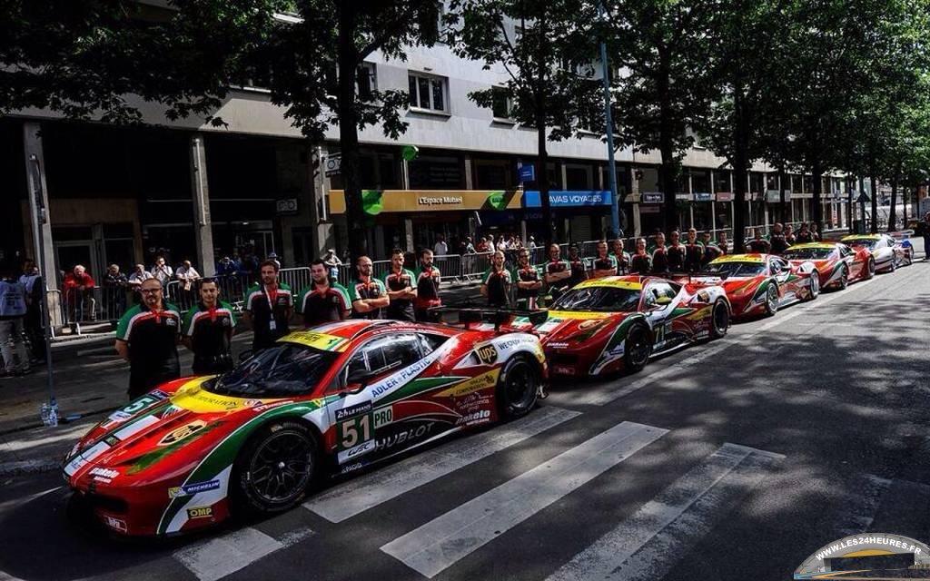 Ferrari Af Corse Pesage 2014
