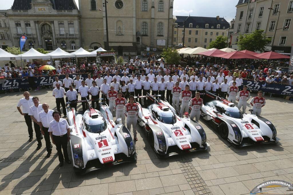 Audi R18 Etron Quattro Team Joest 2014