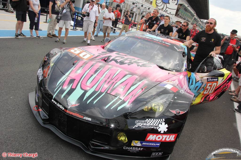Corvette Art Car