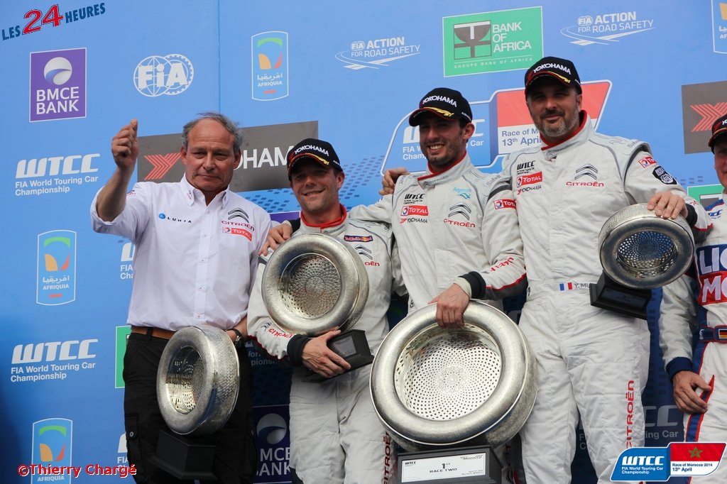 Marrakech 2014 - Podium Citroen